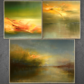 Paintings abstract | set 192