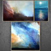 Paintings abstract | set 193