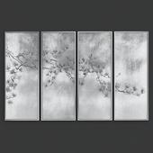 Set Of Grey Wall Arts