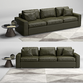 de Sede ds-247 sofa and ds-615 table