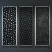 Frames with seamless textures