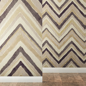 Wallpapers SANDERSON collection ZIGZAG