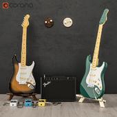 Fender guitar set