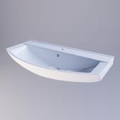 Washbasin Sanita Lux Best 85