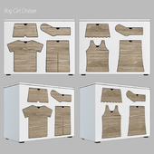 Boy-girl dresser