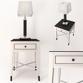 Vermont cabinet and Farol reading lamp