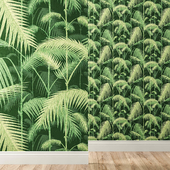 Wallpapers Cole & Son collection Palm Jungle