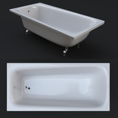 Standard steel bath 1500x700mm