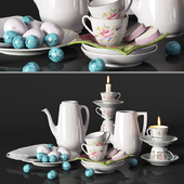 Decorative set Provence, service