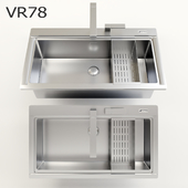 Smeg VR78 kitchen sink