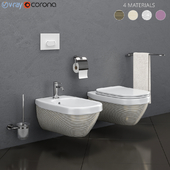 Toilet and bidet HATRIA | ABITO