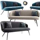 Lema Bice Living Furniture Occasional Sofa