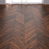 Befag American Walnut Lacquer Parquet Floor in 3 types