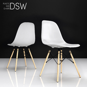 Eames DSW plastic side chair