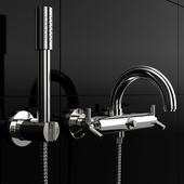 Wall-mounted faucet Grohe Atrio 25010