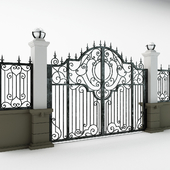 Iron gate antrandes