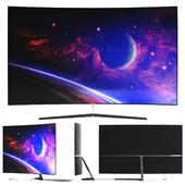 TV Samsung Premium UHD 4K Curved Smart TV MU9000 Series 9