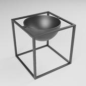 Modern Plant Vase - Corona Render