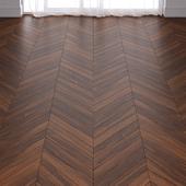 Brown Pear Wood Parquet Floor in 3 types