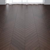 Ebony Oak Wood Parquet Floor in 3 types