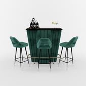 Bolton bar & Bar stool avorio