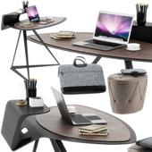 Cattelan Italia Storm desk set