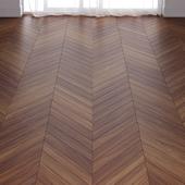 Brown Teak Wood Parquet Floor in 3 types