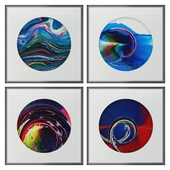 Abstract paintings set_12