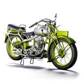 motorcycle MGC 350cc 1930
