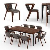 Fuga Dining Room Set