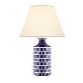 Alexa Hampton Blue and White Porcelain Table Lamp Portable Light
