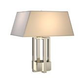 Alexa Hampton Ingrid Polished Nickel Decorative Table Lamp Portable Light