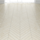 White Birch Wood Parquet Floor in 3 types