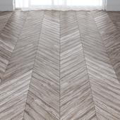 Light Gray Walnut Parquet Floor in 3 types