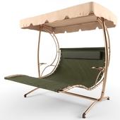 Chaise longue garden swings Garden Way Bolly Stand200 double