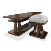 Table and pouf Nessie