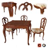 Table and chairs Villa Pisani (Moletta)