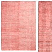 Carpet Hay Moire Kelim Coral rug