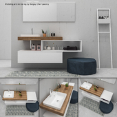 Bathroom furniture set E.Go 4