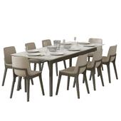 dining ventura chair poliform