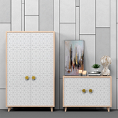 Sideboard with chest of drawers