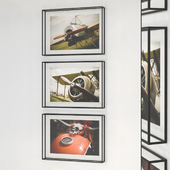 Frame frames made of metal for photographs (OL 03)