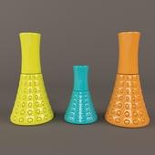 modern color vase