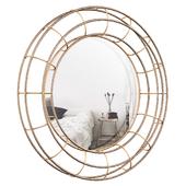 Bronze Round Accent Mirror BRAY8175