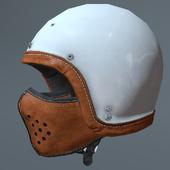 Motorcycle helmet and mask