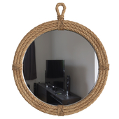 Wrapped Accent Mirror