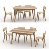 """Table and chairs """"Rondo"""""""