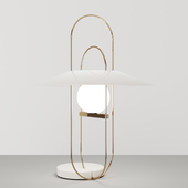 Setareh table lamp by Fontana Arte