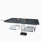 T1 Pool Table Teckell Biliardo