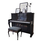 "The piano ""Weinbach"", banquet and decor (Piano Weinbach banquet and decor)"